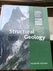 现货(谭)Structural Geology 英文原版 构造地质 第1版 Haakon Fossen