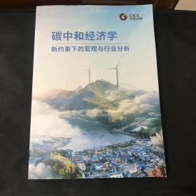 碳中和经济学 新约束下的宏观与行业分析