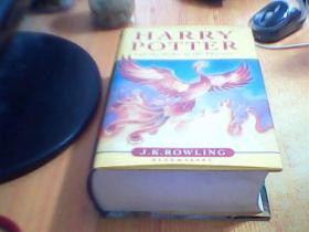 Harry Potter and the Order of the Phoenix        二手书有划线笔迹     如图