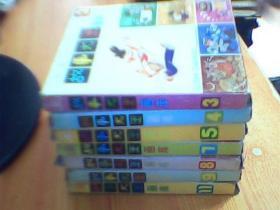 故事大王画库《第3, 4 ,5,  ,7,  8 ,9 ,11,辑》每辑1盒  含5册      共7盒合售    如图