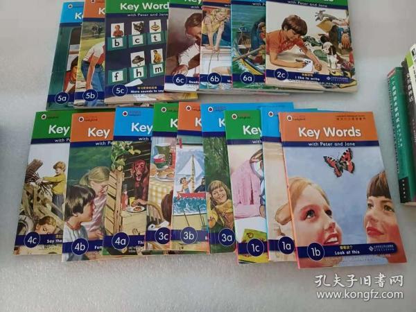 快乐瓢虫双语童书·Key Words(16本合售)书名见图