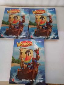 外文McGraw-Hill Reading Wonders G1   4-6UNIT(3本合售)