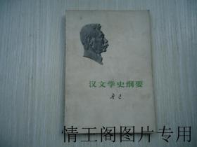 魯迅全集單行本:《漢文學史綱要》(館藏 · 北京版 · 一版一印)