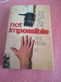 英文原版书 Not Impossible: The Art and Joy of Doing What Couldnt Be Done Hardcover –