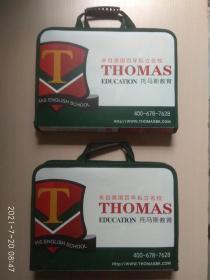 来自美国百年私立名校 THOMAS EDUCATION 托马斯教育(上下 两提兜)