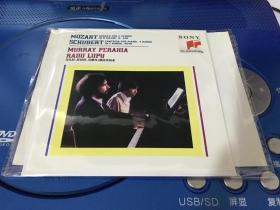 CD       莫扎特。舒伯特。双钢琴4弹 埃米西亚   【 简装版】