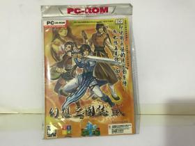 【游戏光盘】幻想三国志 贰(4CD)简体中文正式版