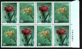 邮政用品、邮票、纪208母亲节2全方连,请看图,综合定为9.5品,