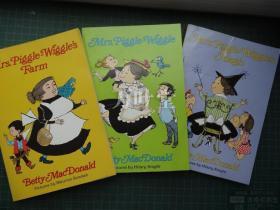Mrs Piggle-Wiggle's Farm  英文原版 <匹克威克夫人>  三册合售 品好
