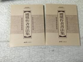 历届全国中青年书法篆刻展.上下卷.获奖作者书法集