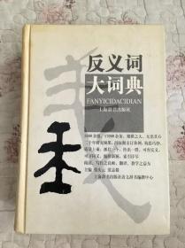 反义词大词典(精装本)