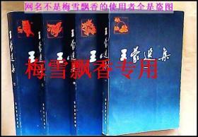 王蒙选集一二三四卷1-4册全套