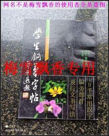 学生钢笔字帖-9000常用汉字偏旁部首及行文书写法