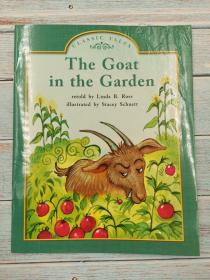 the goat in the garden