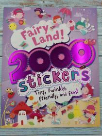 Fairy Land (2000 Stickers)