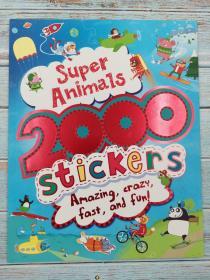 Super Animals (2000 Stickers)