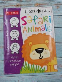 my first i can draw safari animals