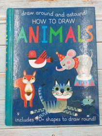 draw around and astound! how to draw animals
