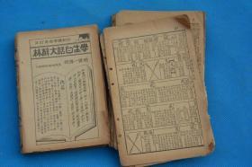 民国老字典词典 散张一些 老物件摆设