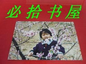老彩照:小美女在桃从留影  这类商品不能发挂刷只能发快递