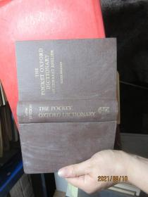 THE POCKET OXFORD DICTIONARY OF CURRENT ENGLISH 精  8455
