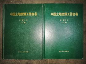 中国土地资源工作全书 上下