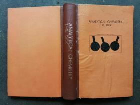 ANALYTICAL CHEMISTRY J.G.DICK
