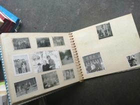16开七八十年代老相册,附有55张大小不一照片,如图详述
