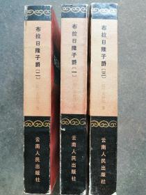 布拉日隆子爵  第一 二三卷 共3册合售   83年1版1印