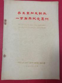 吴玉章同志诞辰一百周年纪念专刊(1978年12月中国人民大学出版社)