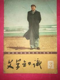 文学知识 1960年第3期(封面毛主席像)