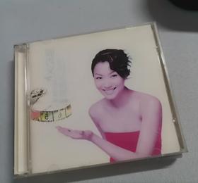 郑秀文影视金曲精选 2CD  缺少1张   存1
