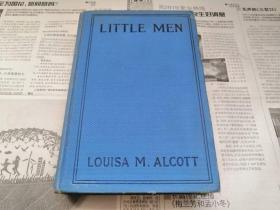 罕见民国1913年美国原版精印的路易莎·梅·奥尔科特百年经典名著《Little Men》