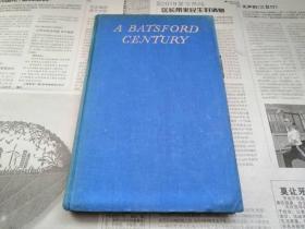 罕见民国1944年由英国原版印制的珍贵史料文献《A Batsford Century》