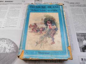 罕见民国早期原版刊印的长篇世界经典名著《Treasure Island:金银岛》