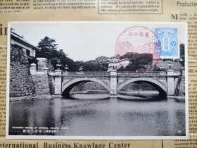 皇居二重桥景致