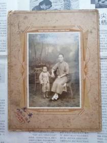 民国时期上海小南门吴光照相馆珍贵摄影一帧