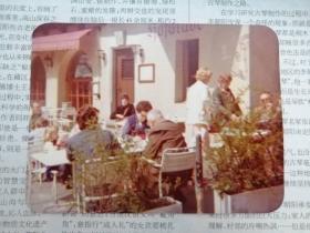 罕见华人小资优裕生活:欧洲旅行-街边咖啡馆