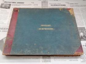 罕见德国莱比锡早期精印的百年绝版莫扎特交响曲谱《Mozart Symphonies》