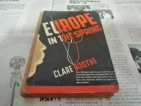 """罕见民国版二战时事评论珍稀纪实文献""""欧洲之春""""《Europe in the Spring》"""