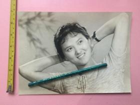 照片,美女,大尺寸,手表,微笑甜美,长约24cm,宽约17.5cm