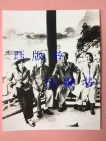 照片,周恩来、邓颖超、陈毅、张茜合影,广西阳朔