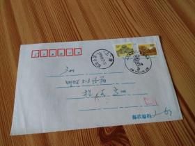 实寄封 :收件人当代集邮主编程文高,上海纪念戳