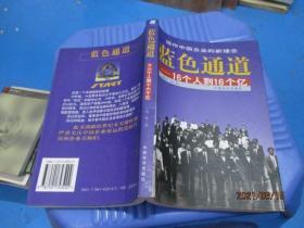 蓝色通道:16个人到16个亿   刘勇  著  2-7号柜