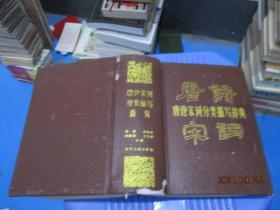 唐诗宋词分类描写辞典   精装  9-3号柜