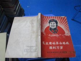 毛主席的革命路线胜利万岁 党内两条路线斗争大事记(1921-1968)毛林合影  毛江合影  完整不缺页  插图多。  品自定  实物图  9-1号柜