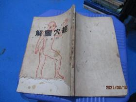 经穴图解 承澹盦(简装本 1954年版)  品如图  主要内容完整   8-2号柜