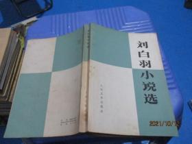 刘白羽小说选  10-3号柜