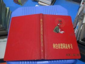 笔记本:向白求恩同志学习  记载中医笔记  13 本草从新摘抄  写了小部分 插图完整  品自定  6-7号柜