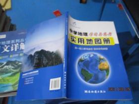 中学地理学习与高考实用地图册 高一高二学习必备 高三备考必需   新书  无勾画  正版现货  3-2号柜